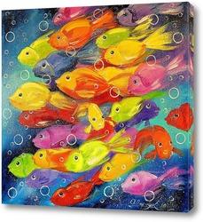 Картина Рыбки