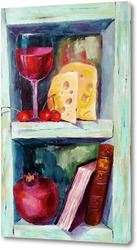 Картина Натюрморт с сыром