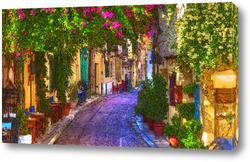 Картина Цветочная улица