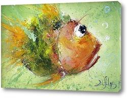 Постер Рыбка сюда