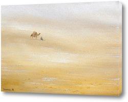Картина В пустыне