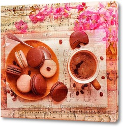Постер Кофе и музыка