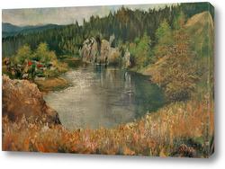 Картина Чусовая в посёлке Чусовой
