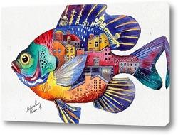 Картина Петербургская рыба