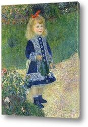 Картина Девочка с лейкой