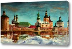 Картина Кирилло-Белозерский монастырь