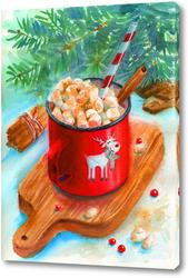 Картина Новогоднее угощение