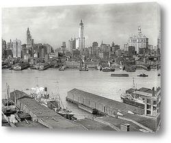 Картина Америка начала 20-го века