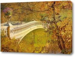 Постер Осенний Манхэттен