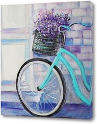 Картина Картина Велосипед в Провансе