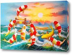 Картина Морские рыбки
