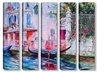 Модульная картина Утро в Венеции