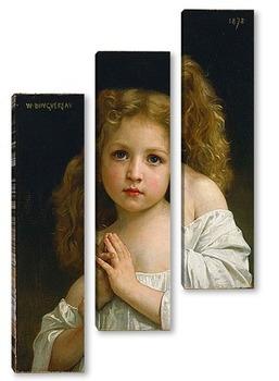 Модульная картина Маленькая девочка