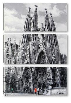 Модульная картина Барселона, Саграда Фамилия