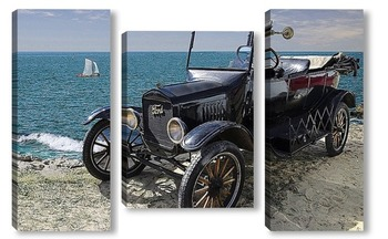Модульная картина Автомобиль Ретро - Форд