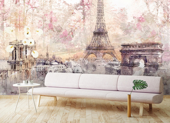 Фотообои Парижская архитектура