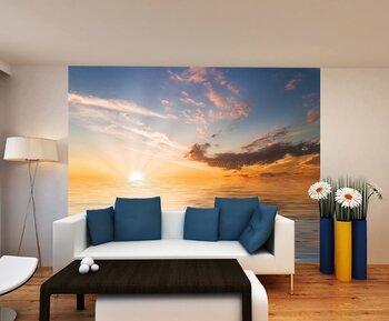 Фотообои Закат на побережье моря