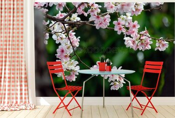Фотообои Цветущее дерево
