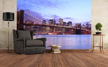 Фотообои Бруклинский мост. Нью-Йорк