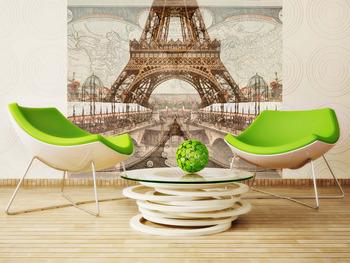 Фотообои Ретро Париж