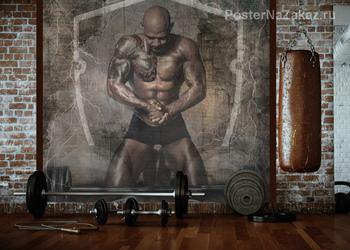 Фотообои Сильный мужчина