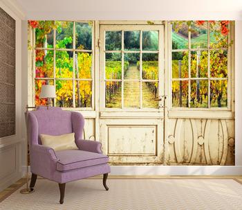 Фотообои Виноградные плантации