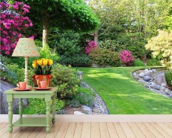 Фотообои Весенний сад