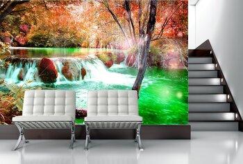 Фотообои Волшебный водопад