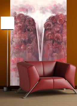 Фотообои Водопад роз