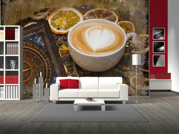 Фотообои Время для кофе